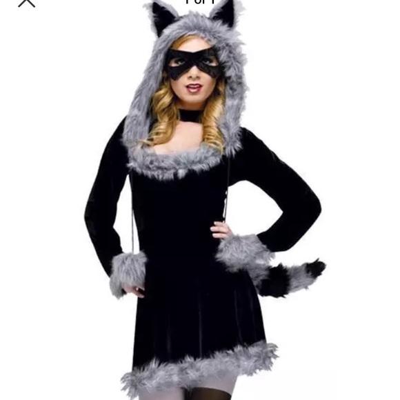 Other Racy Raccoon Adult Halloween Costume Sz 1214 Poshmark
